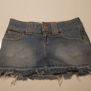 Abercrombie & Fitch jeans skirt